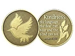 Kindness Dove Affirmation Medallion