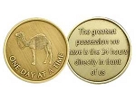 Camel Affirmation Medallion