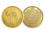 One Day at a Time Camel Medallion