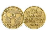 Hand In Hand Affirmation Medallion