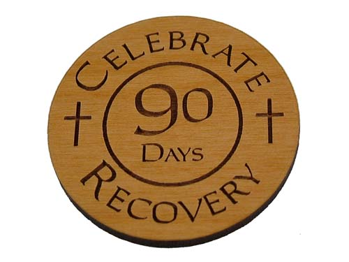 Celebrate Recovery Medallions And Chips 90 Day 3 Month