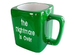 The Nightmare is Over Coffee Mug