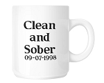 Clean and Sober Coffee Mug
