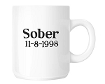 Sober Date Coffee Cup