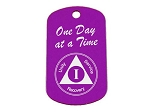 AA Birthday Dog Tag - Personalized Tag