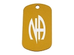 Personalized Classic NA Symbol Dog Tag