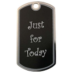 Personalized Just For Today Dog Tag