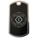 Personalized NA Anniversary Dog Tag