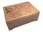 Large Third Step Prayer God Box