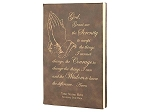 Leatherette Journal with Serenity Prayer