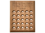25 Token Personalized Serenity Prayer Coin Holder