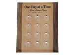 One Day at a Time Personalized Medallion Holder