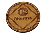 Narcotics Anonymous 18 Month Recovery Medallion