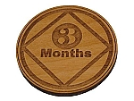 Narcotics Anonymous 3 Month Recovery Medallion