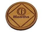 Narcotics Anonymous 6 Month Recovery Medallion