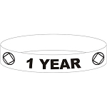 NA One Year Wristband - GLOW