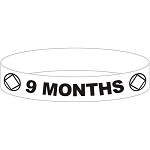 NA 9 Month Wristband - YELLOW
