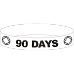 NA 90 DAY Wristband - RED