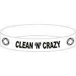 Clean n Crazy NA Wristband