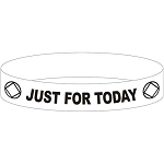 Just For Today NA Wristband