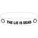 The Lie Is Dead NA Wristband
