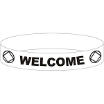NA Welcome Wristband
