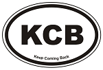 KCB Oval Sticker Decal