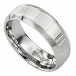 12 Step Stainless Steel Ring