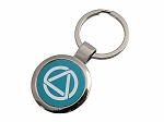 AA Circle and Triangle Key-Tag