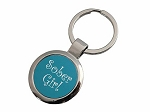Sober Girl Key Tag