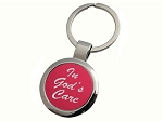 In God's Care Key Tag