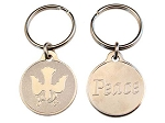 Peace Dove Keycharm