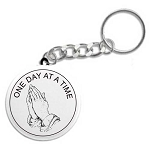 Praying Hands - Recovery Key Chain
