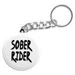 Sober Rider - Recovery Key Tag
