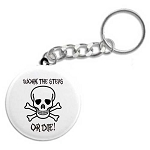 Work the Steps or Die - 12 Step Keychain