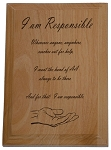 AA Statement of Responsibility Plaque