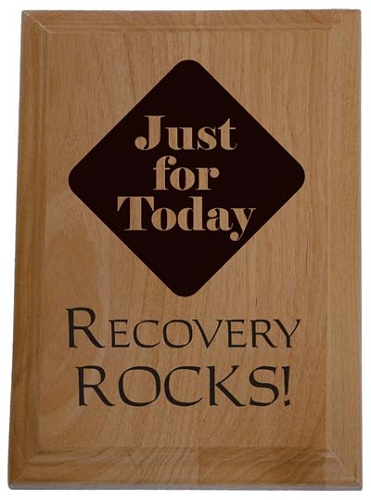 Custom Recovery Plaques And Personalized 12 Step Gifts