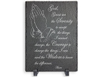 Serenity Prayer Slate Plaque