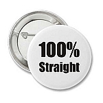 100% Straight - Recovery Badge