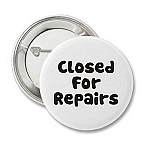 Closed for Repairs - Recovery Button