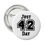 Just 42 Day - Recovery Pin