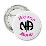 NA Never Alone - Recovery Button