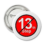 No 13th Step - Recovery Button
