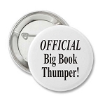 Official Big Book Thumper - Badge