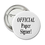 Official Paper Signer - Recovery Button