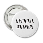Official Whiner - Recovery Pin