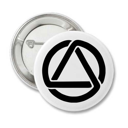 Sobriety Buttons Circle And Triangle Badges Keychains And Pin