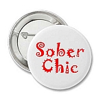 Sober Chic - Recovery Button