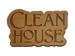 Clean House Refrigerator Magnet