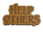 Help Others Refrigerator Magnet